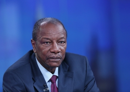 Alpha Conde, Guinea's president, develop new alliances everywhere, except in France...