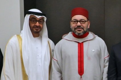 Mohamed bin Zayed Al Nahyan (MbZ) and Mohammed VI (M6).