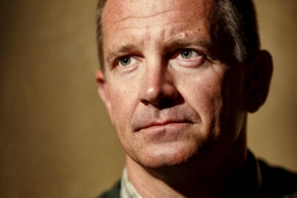 The American private security tycoon Erik Prince.