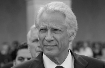Former French Prime Minister Dominique de Villepin.