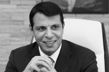 Mohammed Dahlan in his office in Abu Dhabi in 2016.