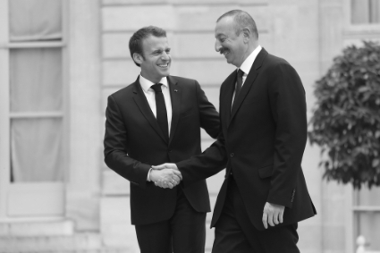 Ilham Aliyev has already visited Emmanuel Macron in Paris, whom just canceled his visit to Baku.