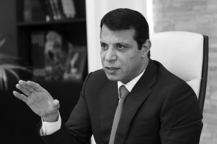Mohammed Dahlan, former head of Preventive Security in Gaza.