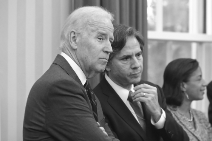 Joe Biden and Antony Blinken, in 2013, at the White House.