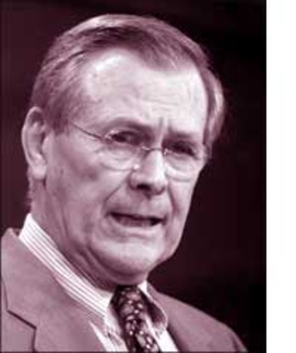 Donald Rumsfeld has had to reconcile himself to pronounce the demise of the OSI