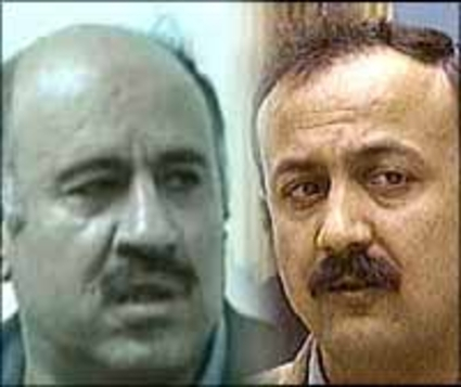 Jibril Rajoub and Marwan Barghouti