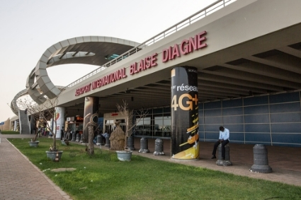 Dakar Blaise-Diagne International Airport.