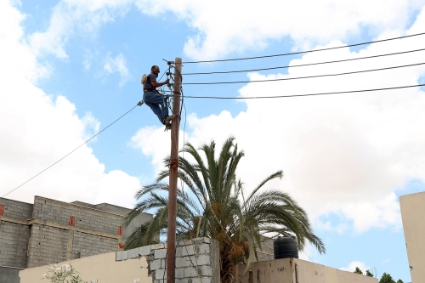 In Libya, many cities, such as the capital Tripoli, suffer from long power cuts.