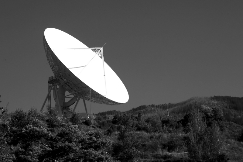 Stations that relay communications will be used to track satellites.