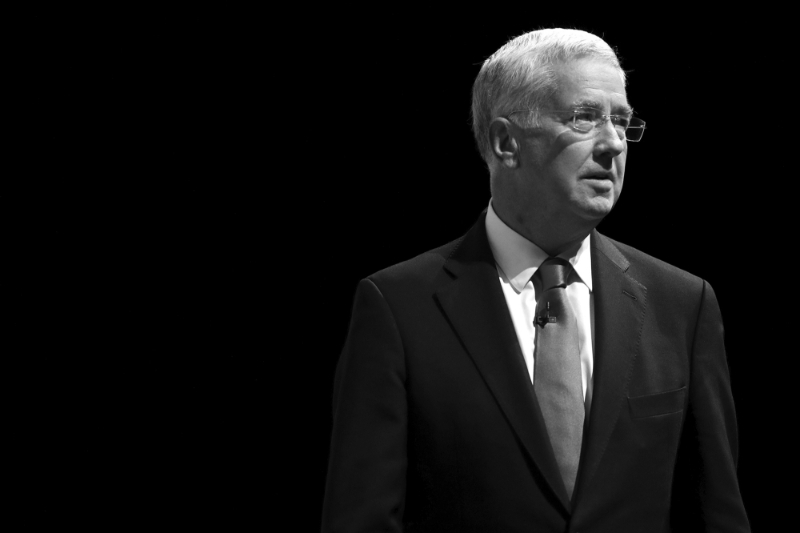 Michael Fallon, former British defense minister, joins Infinite Percent.
