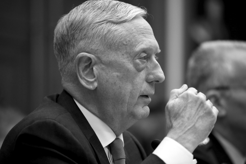 Jim Mattis, Secretary of Defense, is targeted by lobbyists for the Pentagon's cloud allocation.