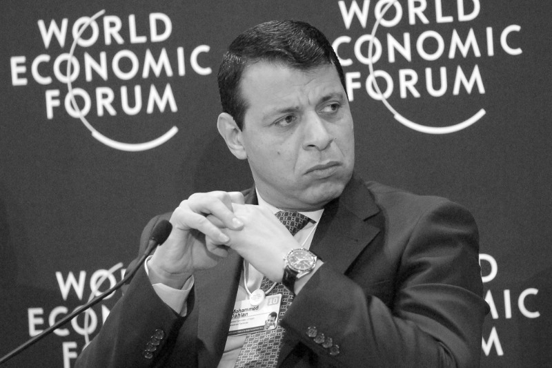Mohammed Dahlan, former head of Palestinian Preventive Security in Gaza.