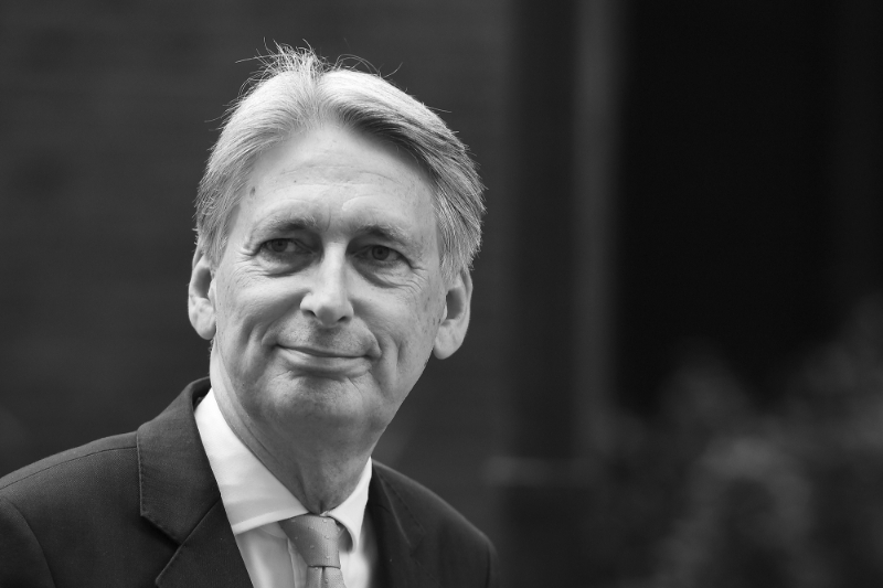 Former British Foreign Secretary and Chancellor of the Exchequer Philip Hammond.
