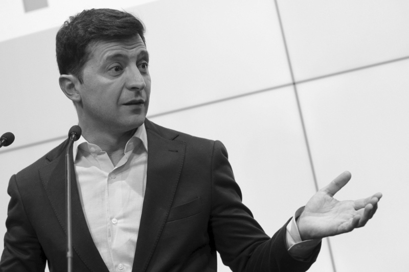 Volodymyr Zelensky was elected President of Ukraine on April 21, 2019.